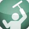 Ablaktisztítás alpintechnikával